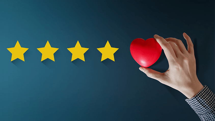 Five Stars with Heart