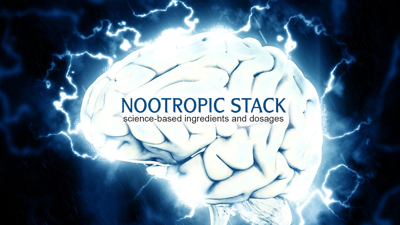 Thrivous Nootropic Stack with Science-Based Ingredients and Dosages