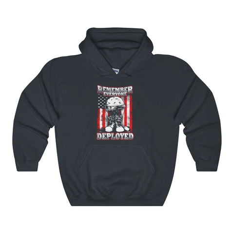 Remember Everyone deployed Gildan Hoodie