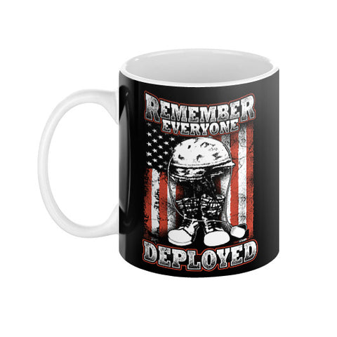 Remember Everyone Deployed Mug  THATSTICKER.COM