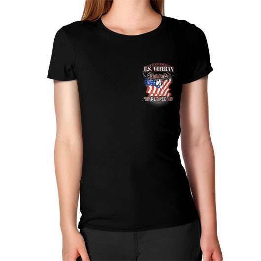 Women's T-Shirt Black THATSTICKER.COM