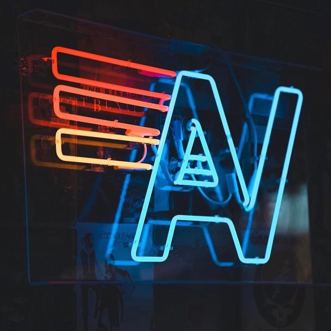 The Aviator Nation Neon Sign