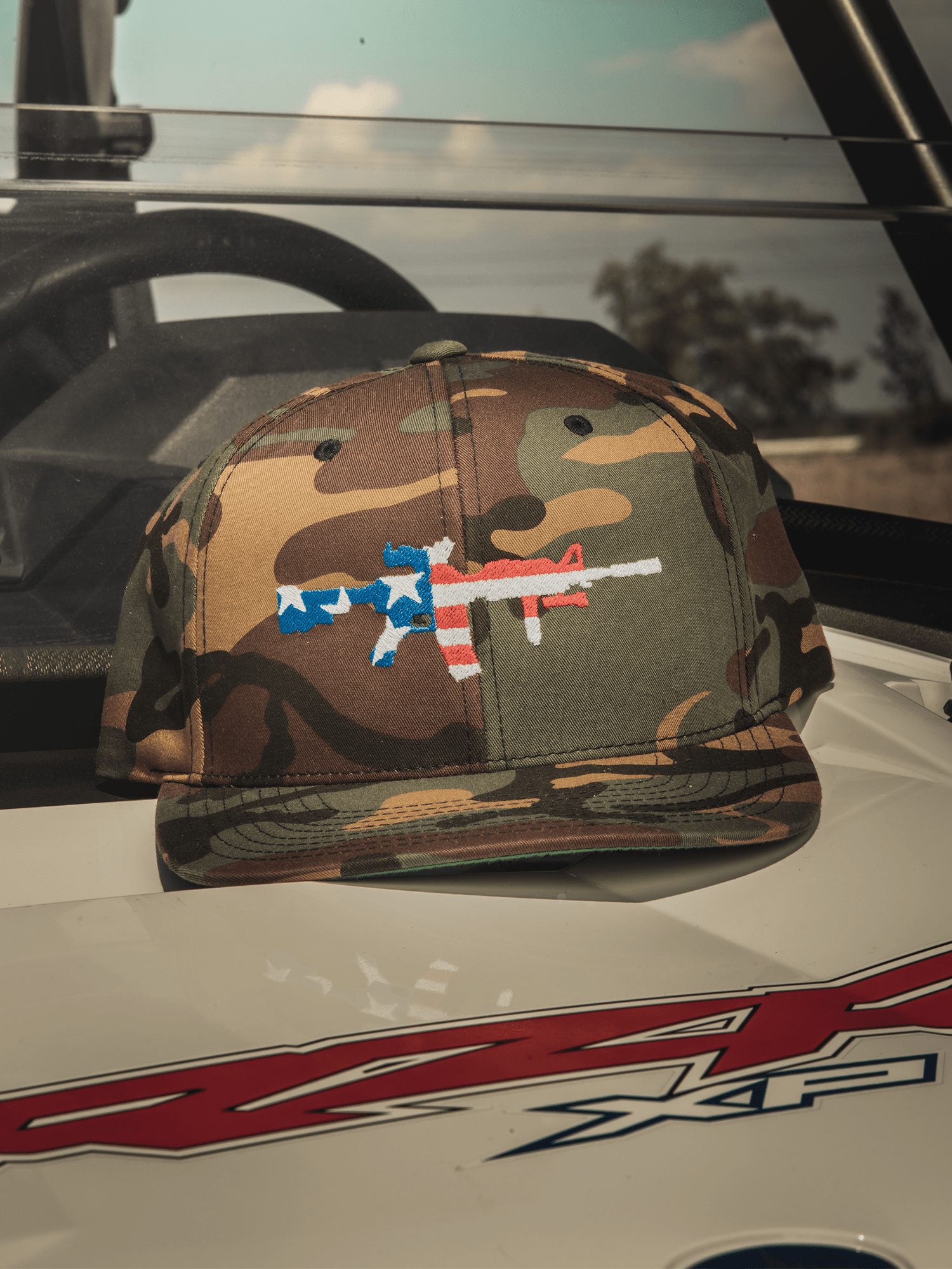 AR-15 CAMO Hat - Lions Not Sheep
