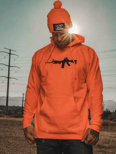 AR-15 Pullover Unisex Hoodie (LIMITED EDITION) - Lions Not Sheep