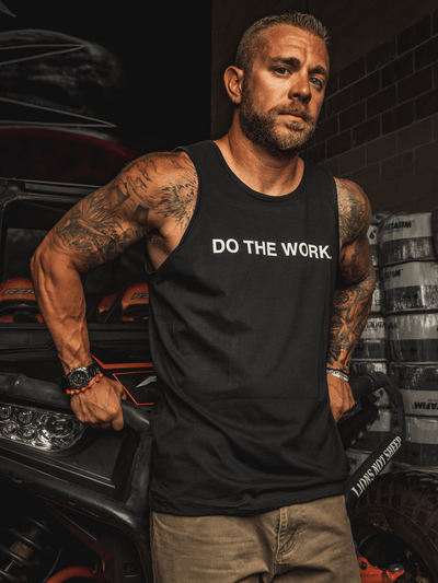 DO THE WORK Mens Tank - Lions Not Sheep