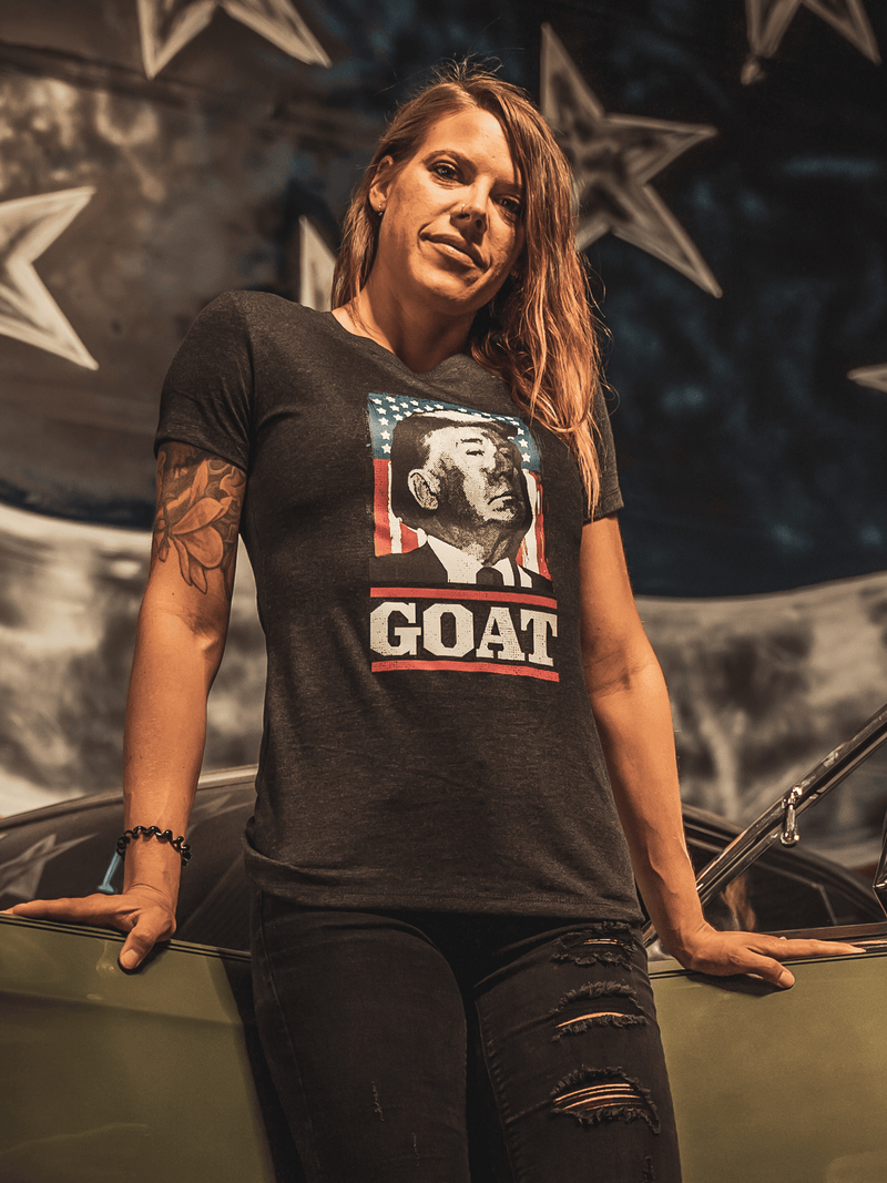 GOAT Womens Tee - Lions Not Sheep