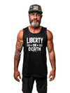 LIBERTY OR DEATH Mens Tank - Lions Not Sheep