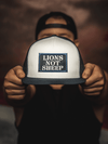 Lions Not Sheep OG Hat (White / Blue) - Lions Not Sheep