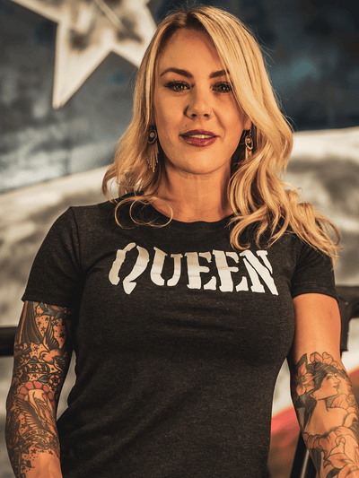QUEEN Womens Tee - Lions Not Sheep