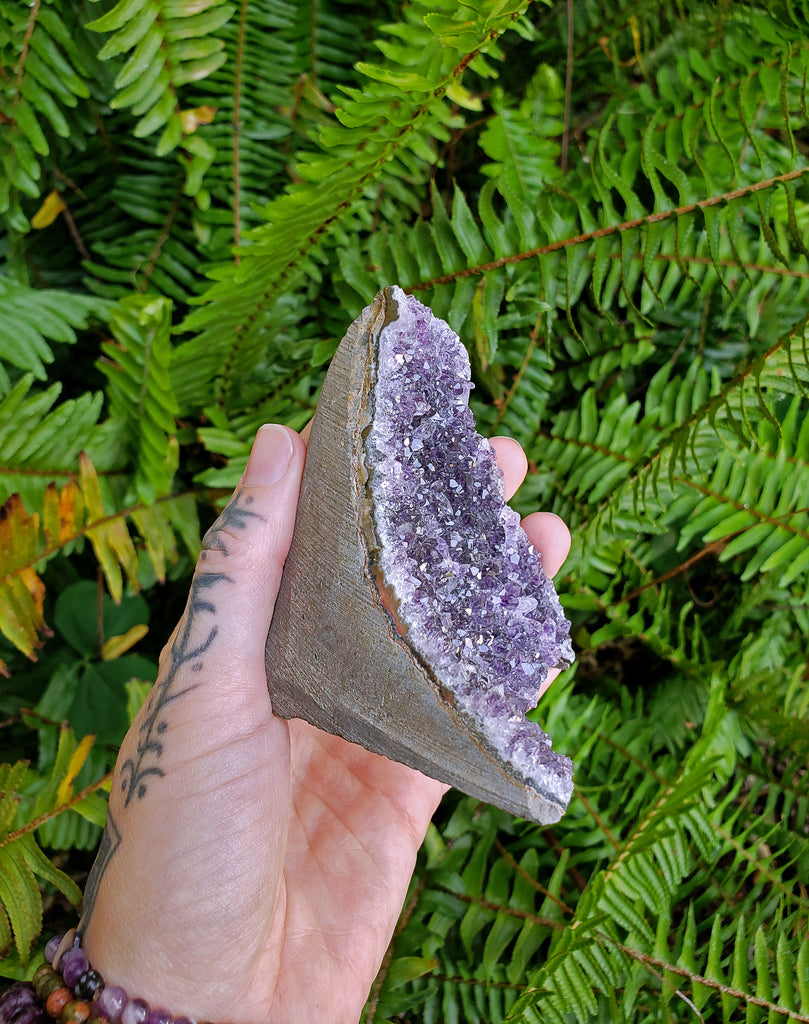 Amethyst Natural Cut Free Form - 06
