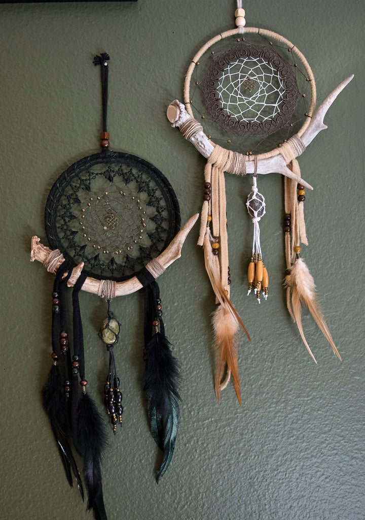 Wandering Dreamland Forest Antler Wall Hanging Totems