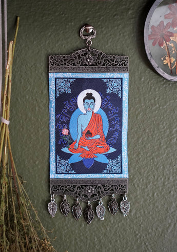 Medicine Buddha Carpet Wall Hanging