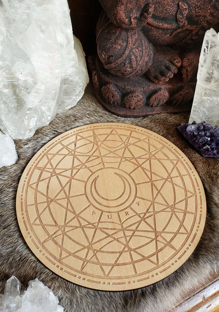 Lunar Collective Conscious Crystal Grid