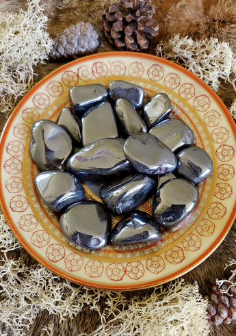 Hematite Tumbled Crystals