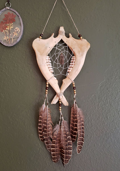 Jaw Bone Dream Catcher
