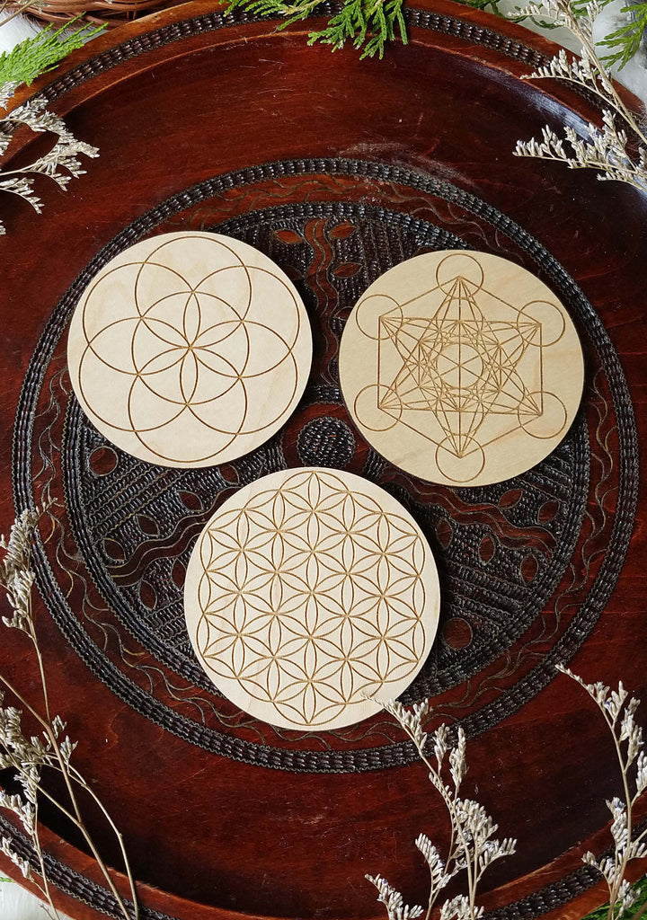 Sacred Geometry Mini Grids