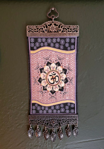 Om Meditation Carpet Wall Hanging