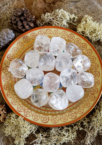 Quartz Tumbled Crystals - Large