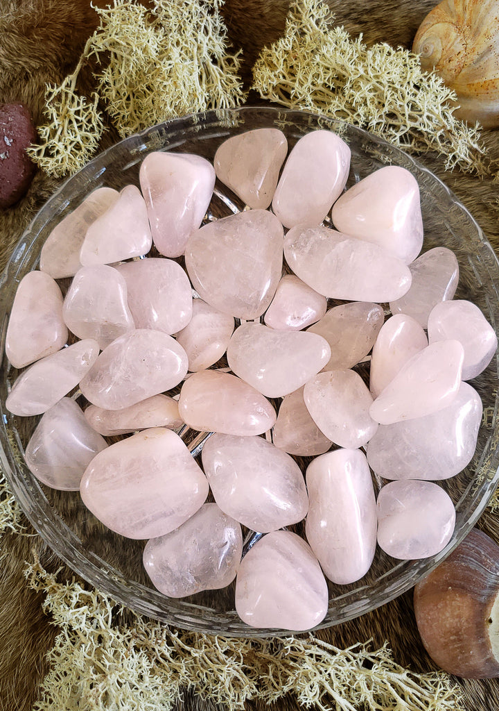 Rose Quartz Tumbled Crystals