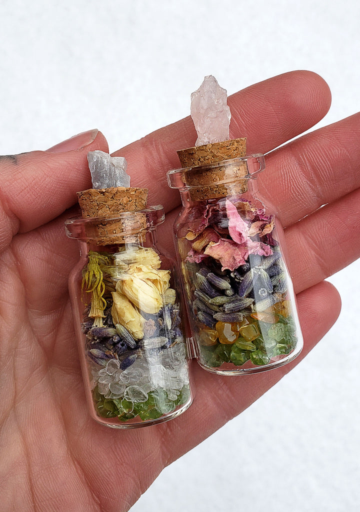 Spellcraft Herbal Vials