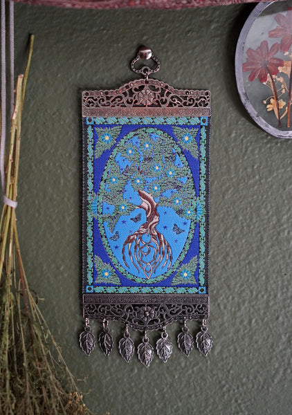 Tree of Life Carpet Wall Hanging
