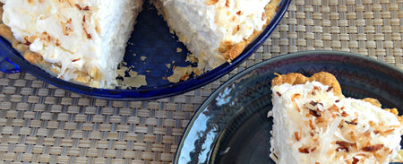 Coconut Cream Angel Pie Recipe
