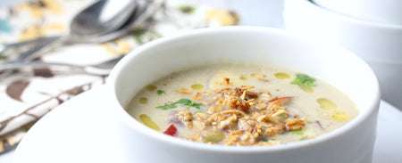 Coconut & Cauliflower Soup