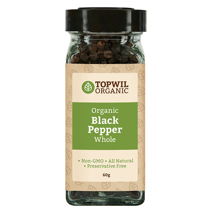 Organic Black Pepper Ground 52g