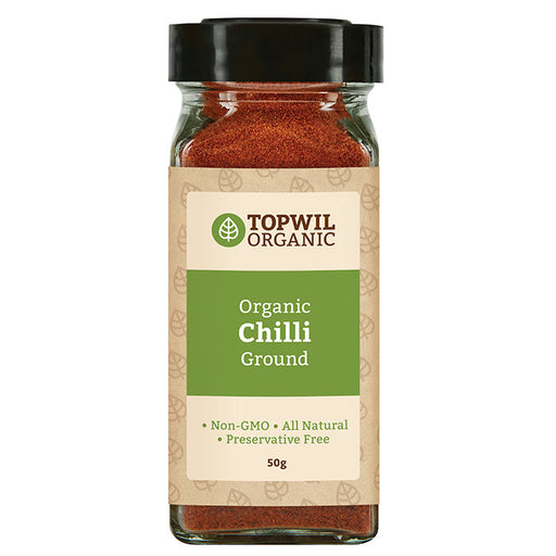 Organic Chilli Ground 50g