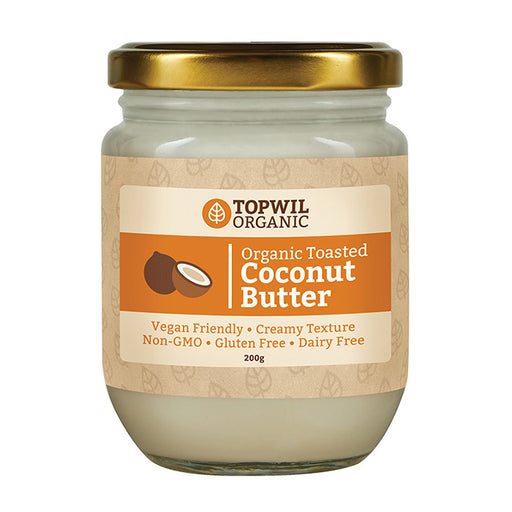 Organic Toasted Coconut Butter 200g