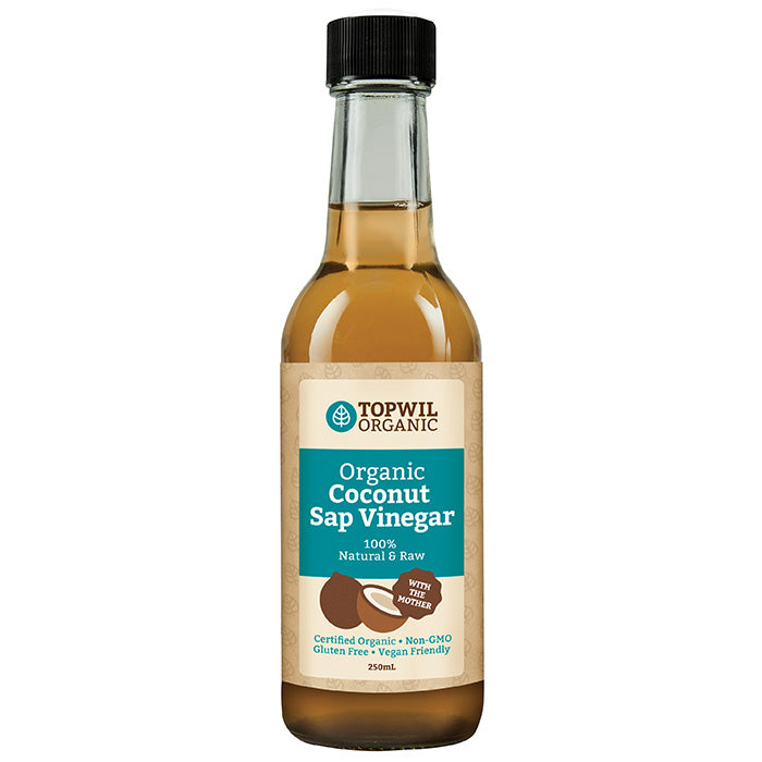 Organic Coconut Sap Vinegar 250mL
