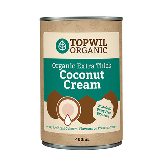 Organic Extra Thick Coconut Cream 400mL