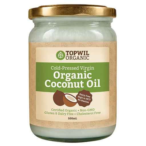 Organic Virgin Coconut Oil 500ml