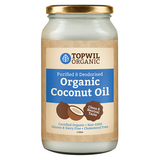 Organic Coconut Oil Purified Deodorized 1 Litre