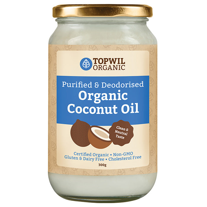 Organic Purified and Deodorised Coconut Oil 300g