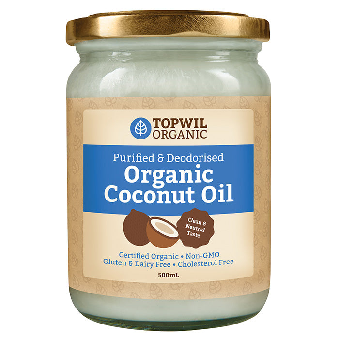 Organic Coconut Oil Purified Deodorized 500ml