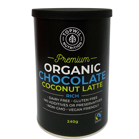 Organic Chocolate Coconut Latte - 240g