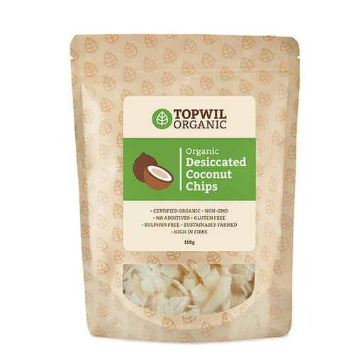 Organic Desiccated Coconut Chips 150g