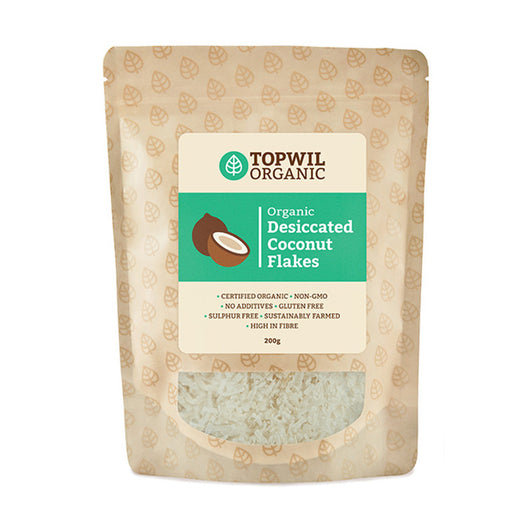 Organic Desiccated Coconut Flakes 200g