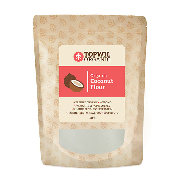Organic Coconut Flour 400g Topwil