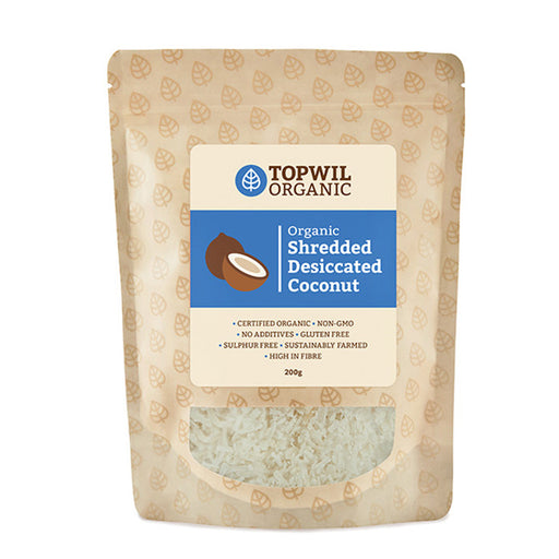 Organic Shredded Desiccated Coconut 200g