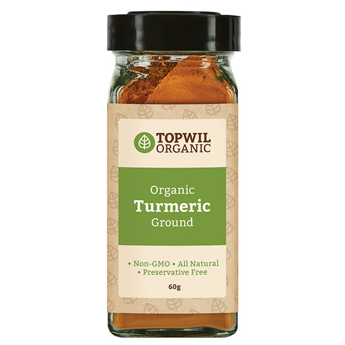 Organic Turmeric Ground 60g