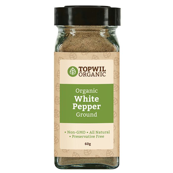 Organic White Pepper Ground 60g
