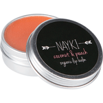 Organic Lip Balm- peach & coconut