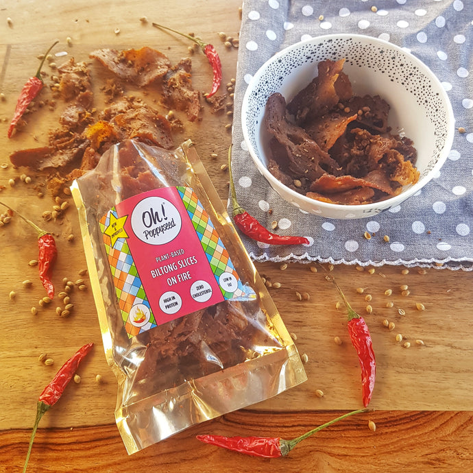 Biltong Slices: on Fire