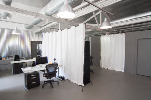 RoomDividersNow Room Divider Kits Perfect For Large Rooms