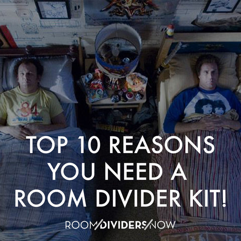 Top 10 Reasons You Need A Room Divider Kit