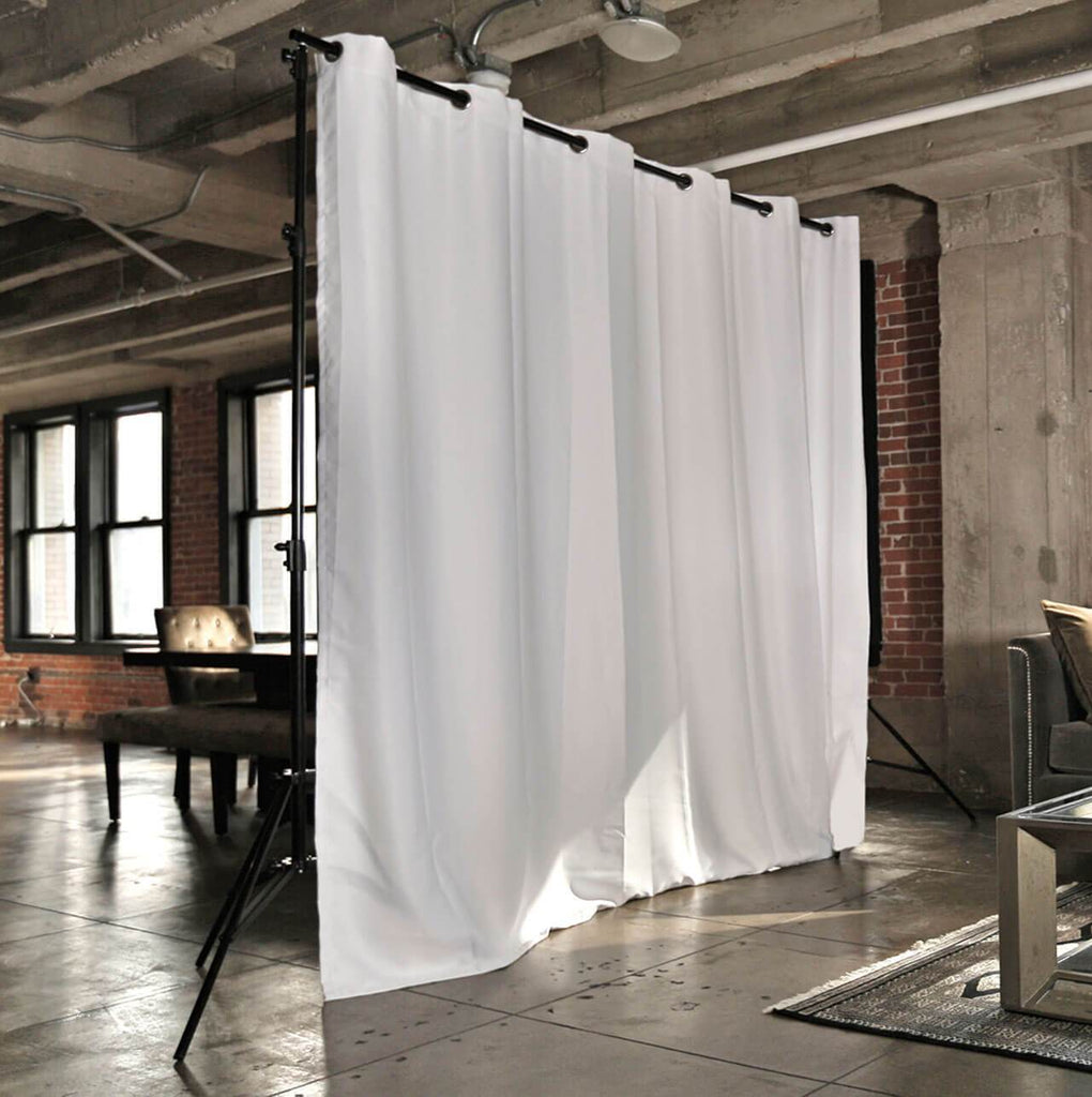 Roomdividersnow Freestanding Room Divider Kits For Spaces Up To 50ft