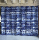 Blue Stripe Divider w/ Silver Rod