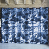Rolling Clouds Divider w/ Black Rod